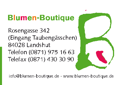 Blumen - Boutique